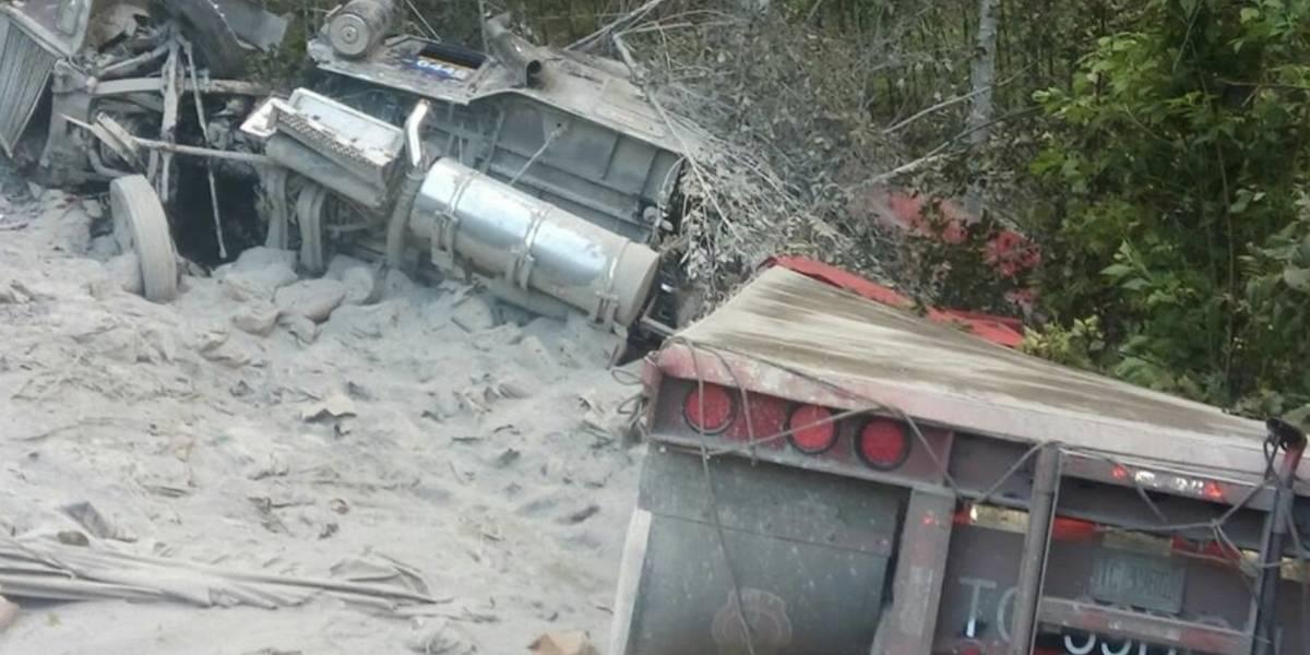 Misterio rodea accidente automovilístico en ruta Interamericana