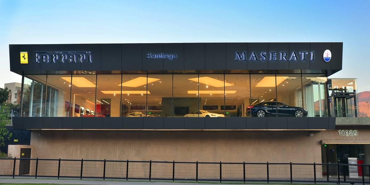 Ferrari y Maserati tienen nuevo cuartel general en Chile