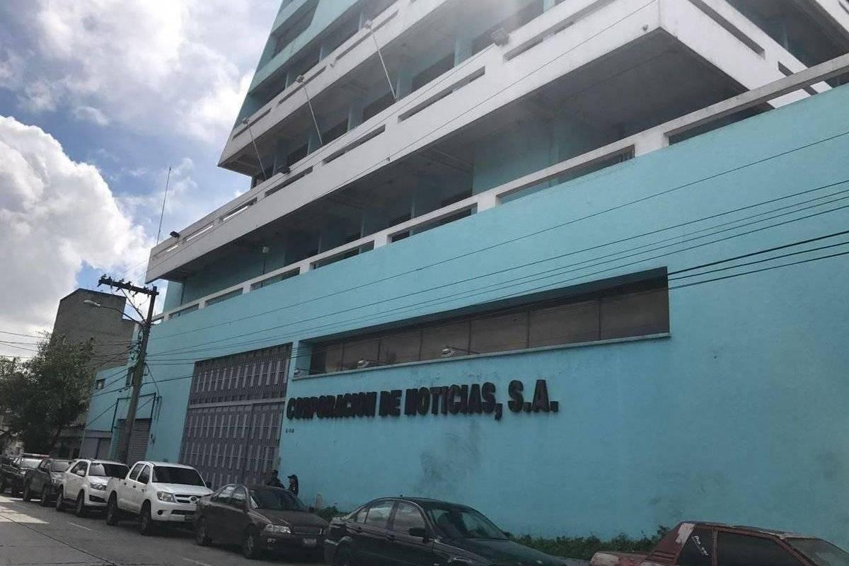 Edificio de Corporación de Noticias. Foto: Publinews