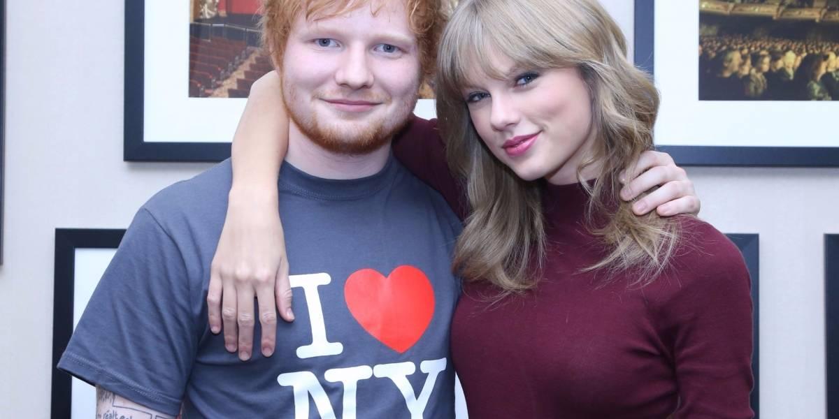 Sem friendzone! Ed Sheeran nega que música de Taylor Swift seja sobre ele