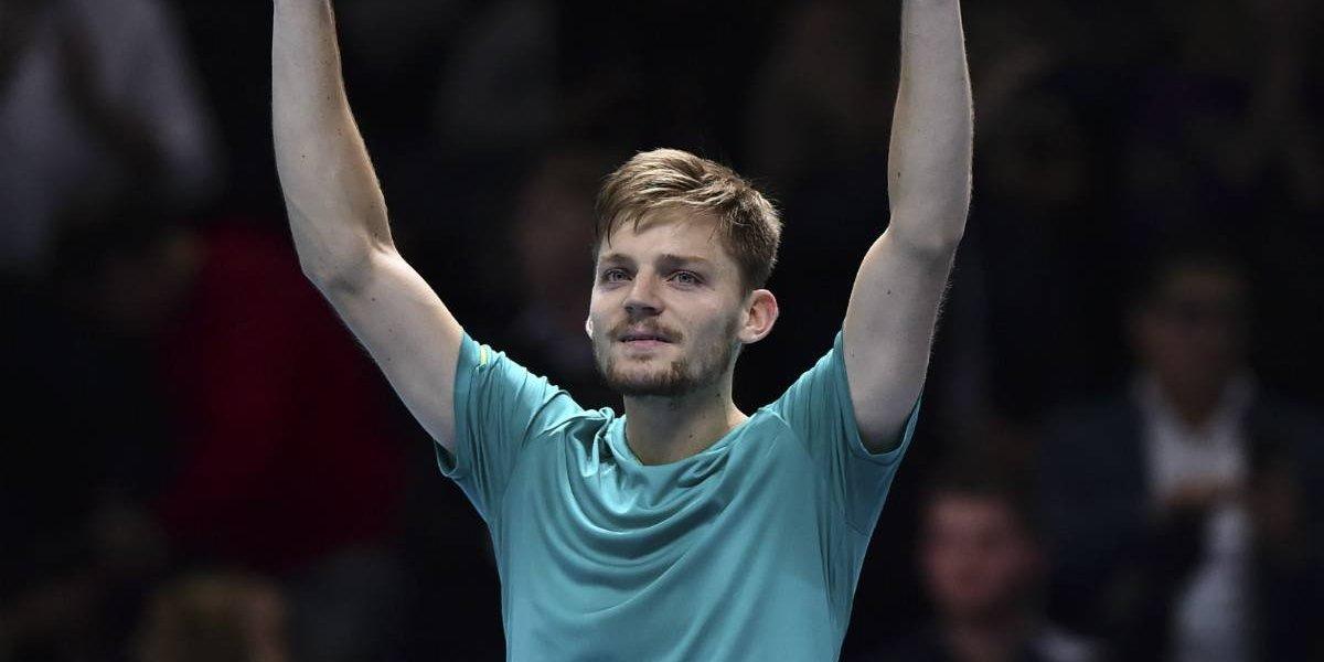 Sorpresa: Goffin vence a Federer en semifinales del Masters