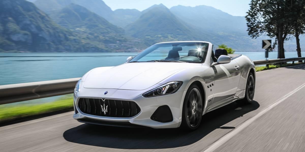 Con nuevos aires llega el Maserati GranCabrio