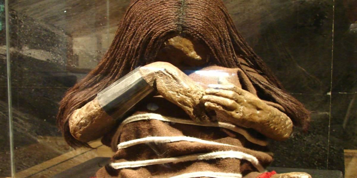 Juanita, la momia que luce como si estuviera viva