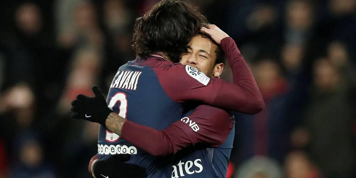 Sem grande atuação de Neymar, PSG goleia Nantes e aumenta vantagem sobre o Monaco
