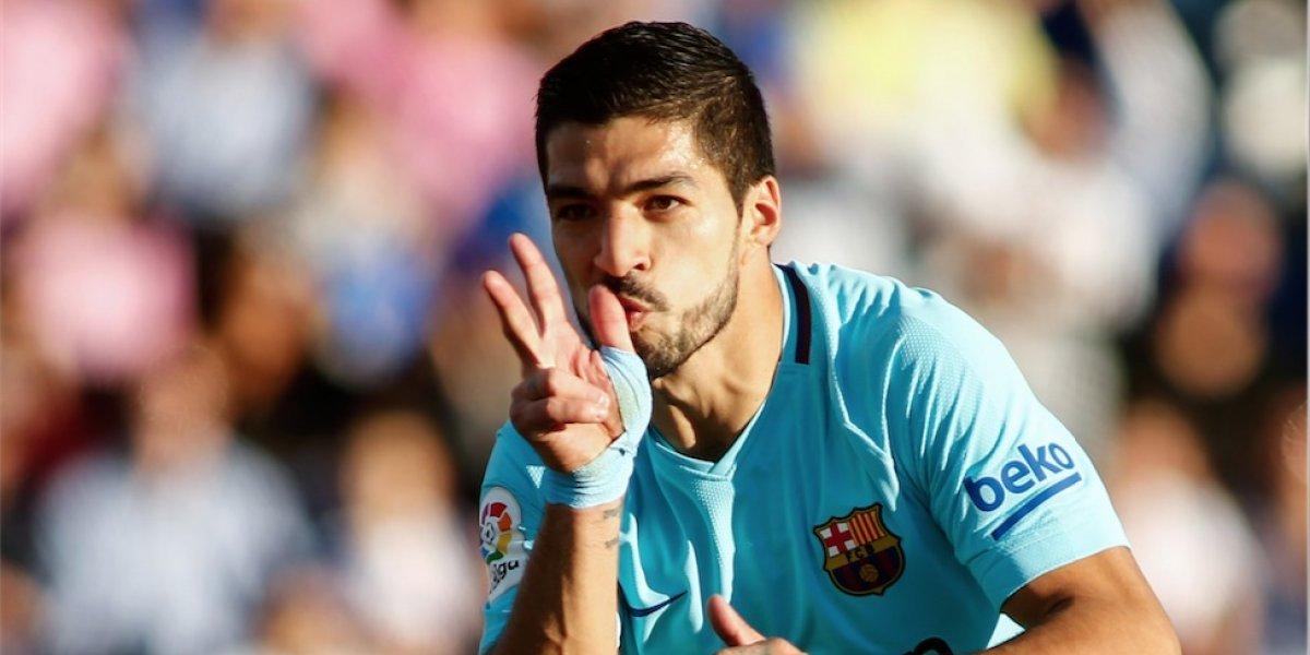 Luis Suárez acaba con su sequía y da el triunfo al Barcelona