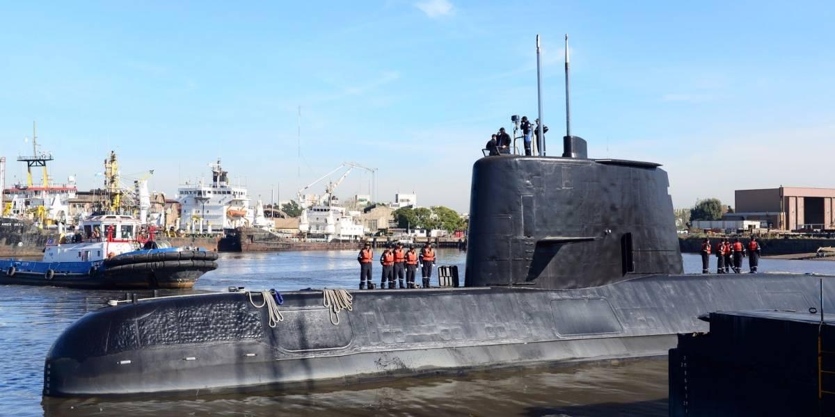 Submarino argentino com 44 tripulantes continua desaparecido