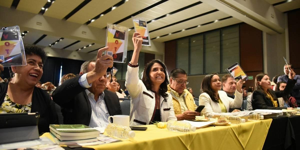 Consejo Nacional del PRD avala coalición electoral con MC y PAN