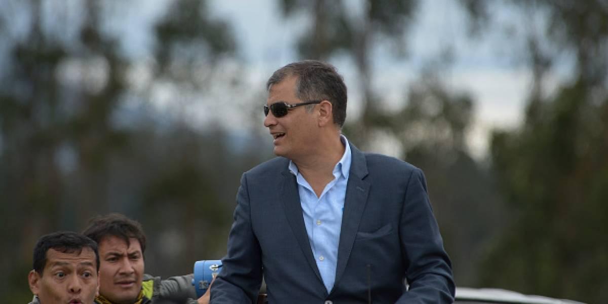 Rafael Correa anuncia su regreso al país