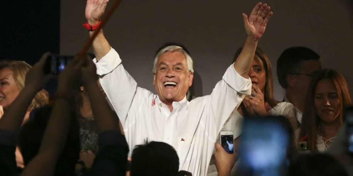 Sebastián Piñera a la cabeza en elecciones de Chile