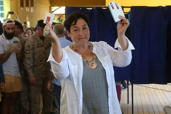 Beatriz Sánchez estuvo a muy poco de avanzar a segunda vuelta / imagen: Agencia UNO
