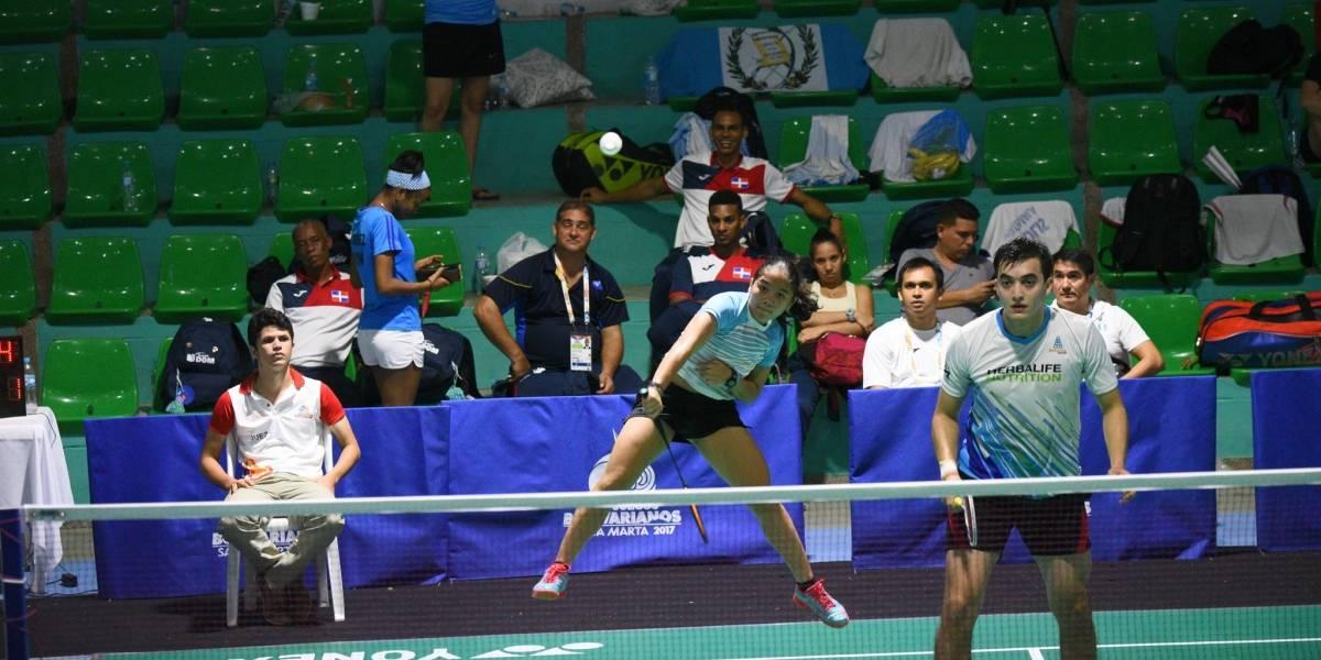 El bádminton arrasa con las medallas en los Juegos Bolivarianos de Santa Marta