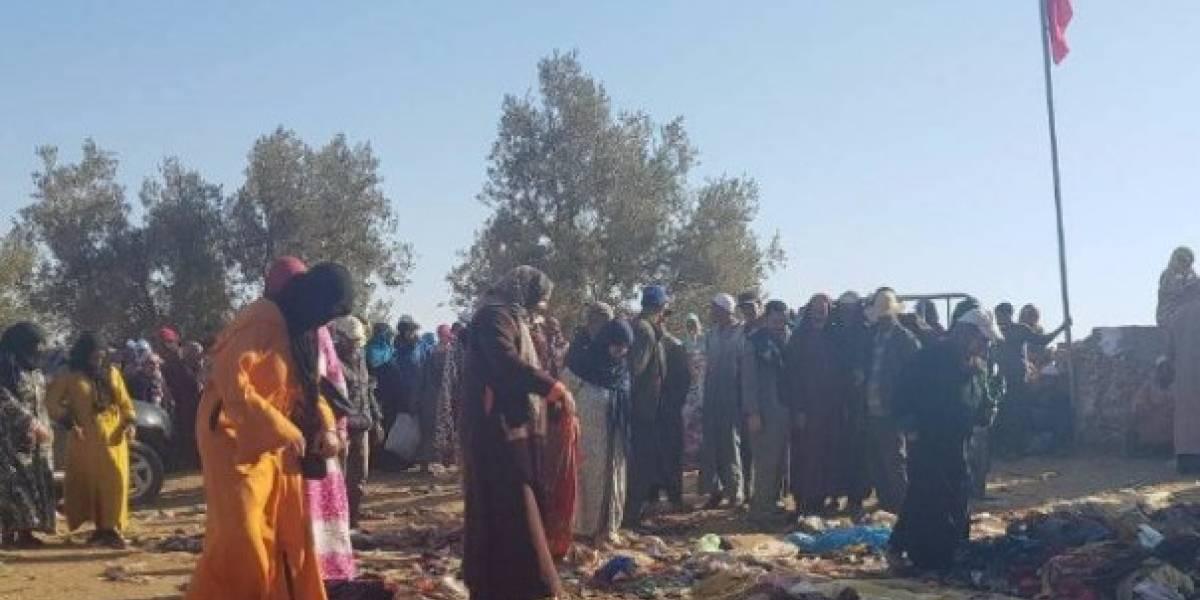 Tragedia en Marruecos: 15 muertos en estampida durante distribución de ayuda alimentaria