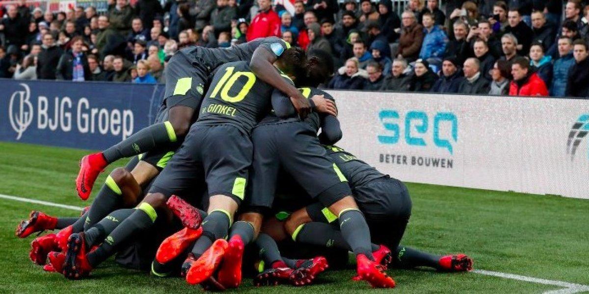 'Chucky' se queda sin anotar en victoria del PSV