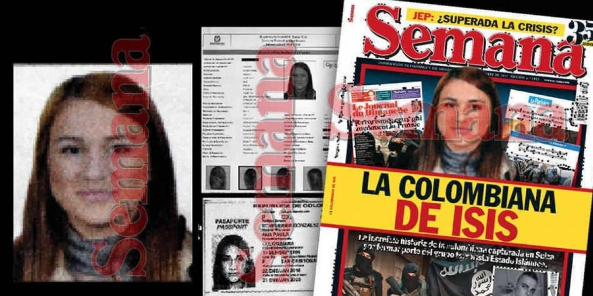 """""""Colombiana del ISIS"""" se acercó al terrorismo por su novio, desvela revista"""