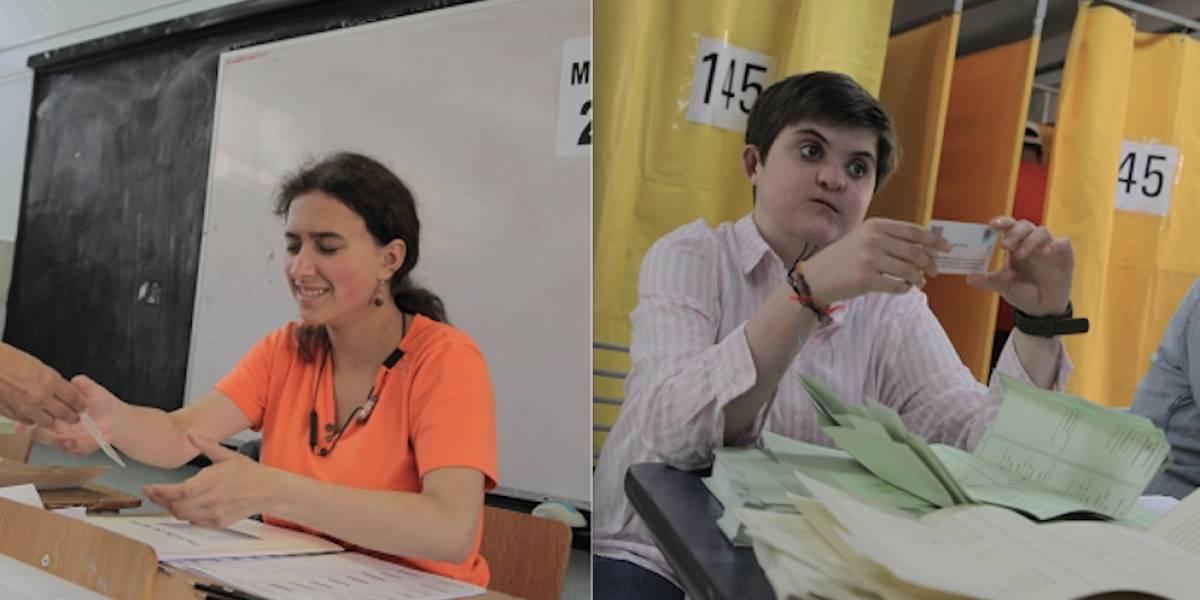 La democracia es de todos: historias de dos vocales con capacidades diferentes