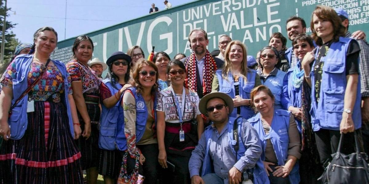 """""""Hay dos realidades en Guatemala"""", señala el Alto Comisionado de la ONU al finalizar su visita"""