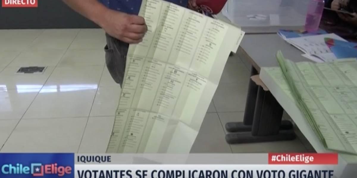 """Elecciones 2017: El voto """"mutante"""" que trajo más de un dolor de cabeza a los electores en Iquique"""