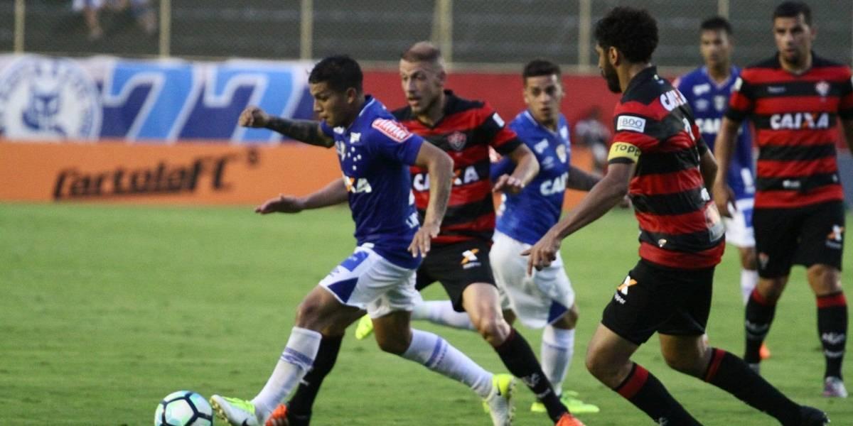 Vitória continua ameaçado de rebaixamento após empate com o Cruzeiro