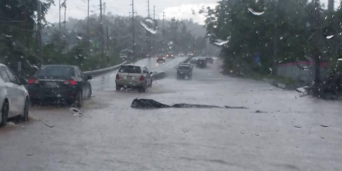 Emiten aviso de inundaciones repentinas para pueblos del área metro