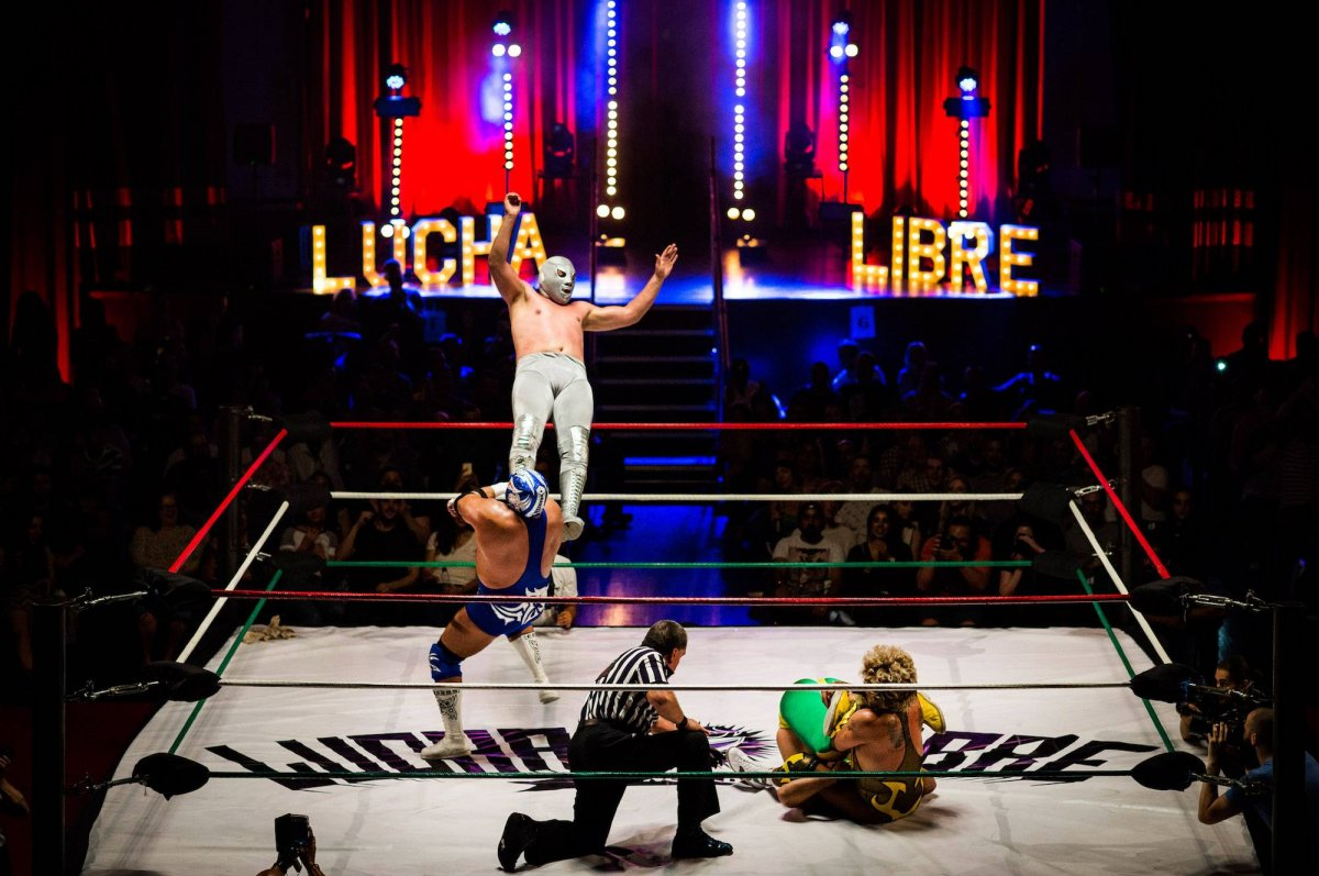 Lucha Libre Getty Images