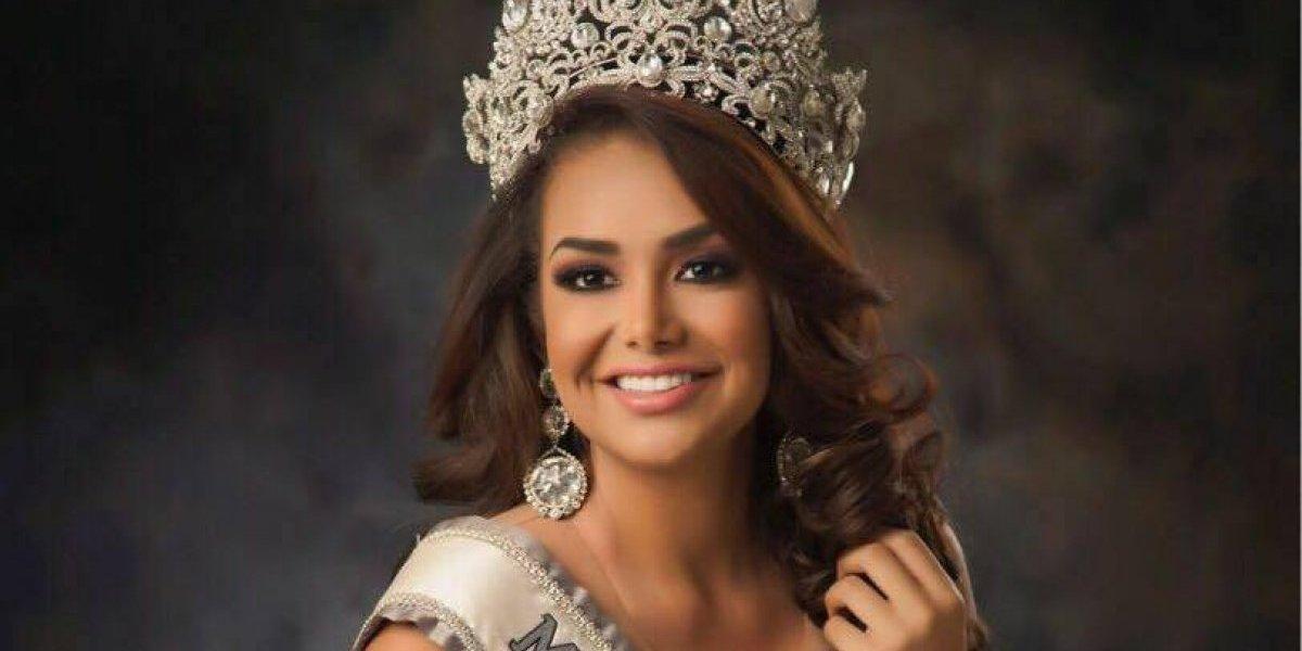 Isel Suñiga deslumbra en Miss Universo con traje regional