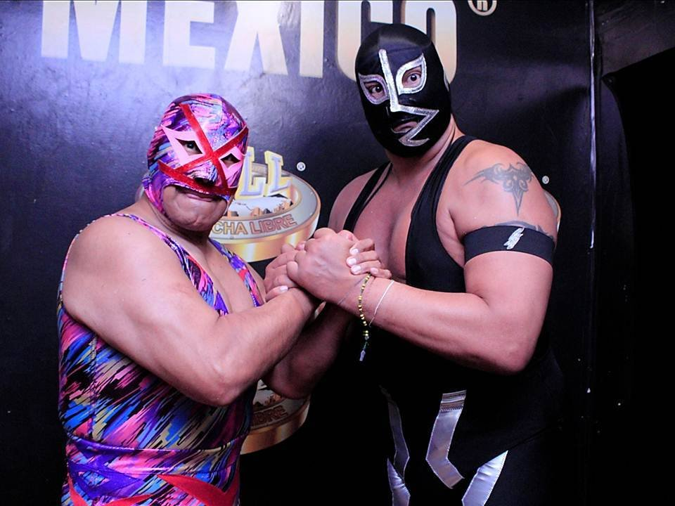 Rayo hizo equipo con Villano IV/Giovanni García/CMLL