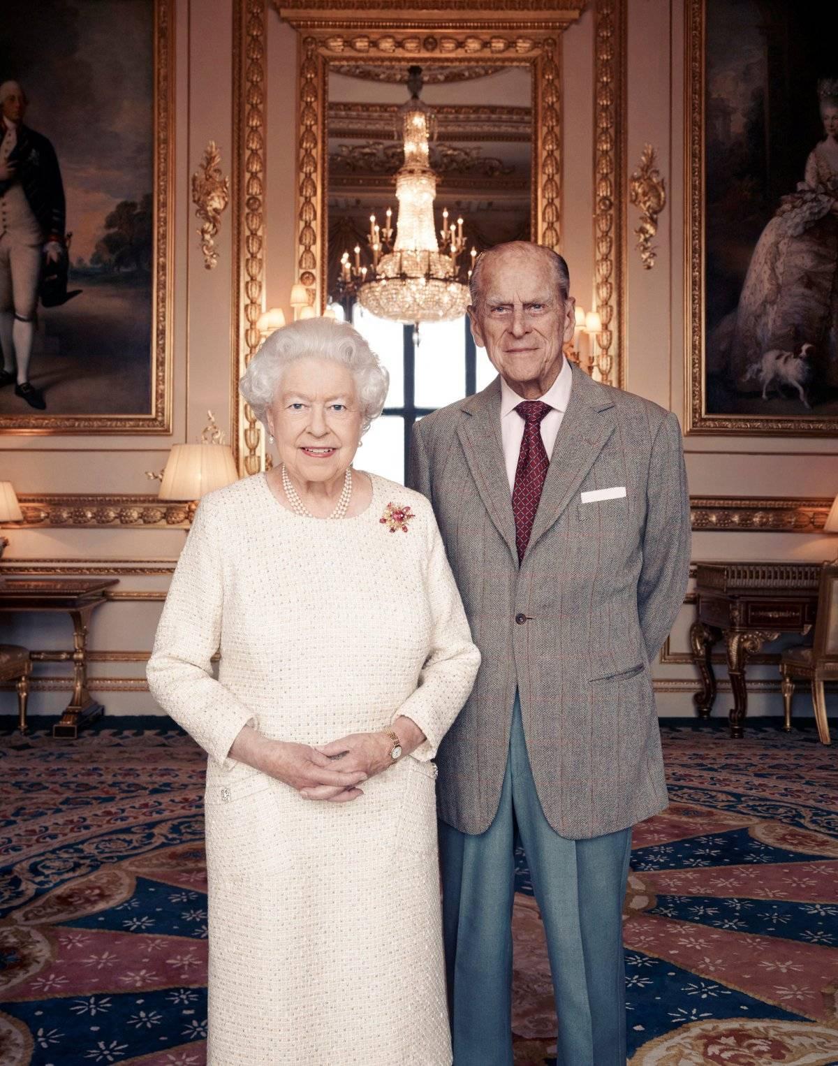 Rainha Elizabeth e príncipe Philip 70 anos de casados