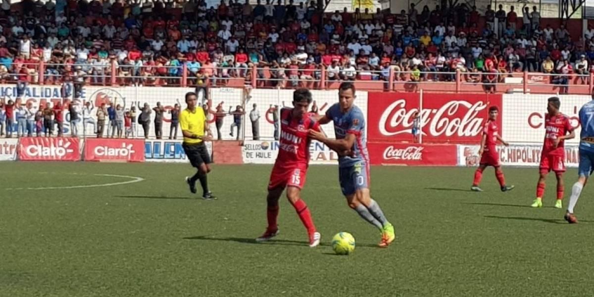 Malacateco y Municipal dividen puntos en el estadio Santa Lucía