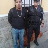 Sicarios capturados por PNC