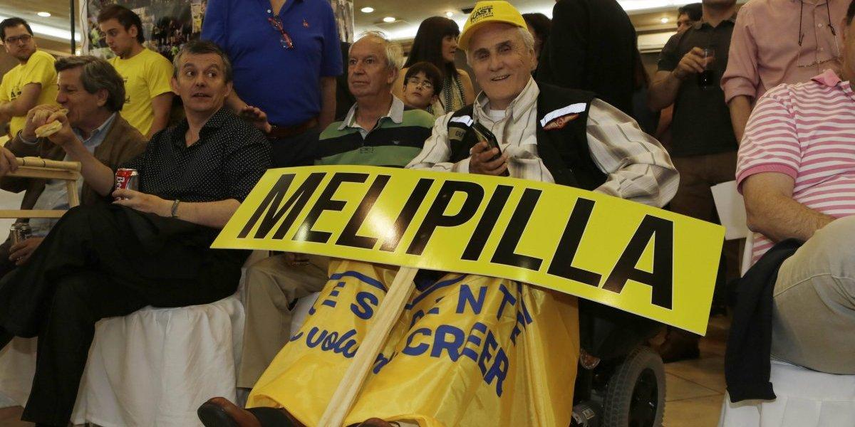 El militar en silla de ruedas que viajó de Melipilla a Santiago a apoyar a Kast