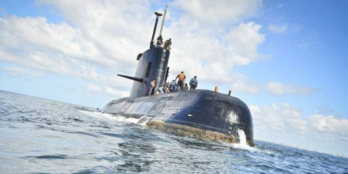 Detectadas siete llamadas fallidas desde el submarino argentino desaparecido