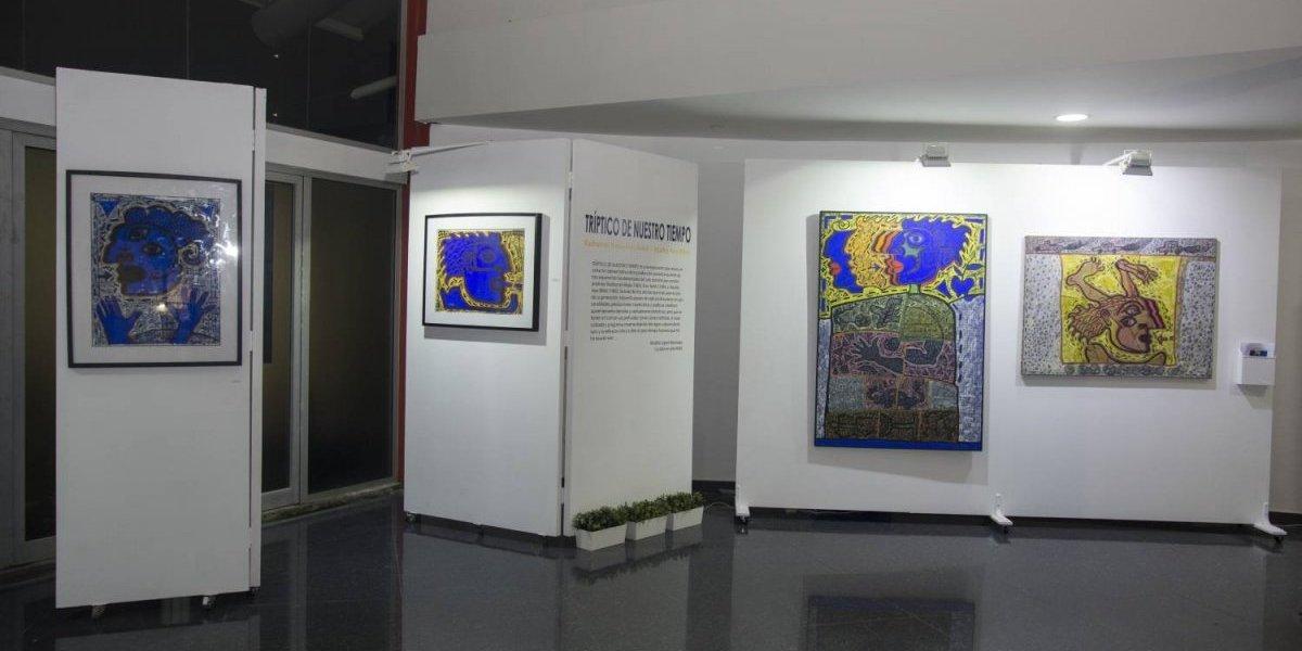 """Inauguran la exposición """"Tríptico de nuestro tiempo"""""""