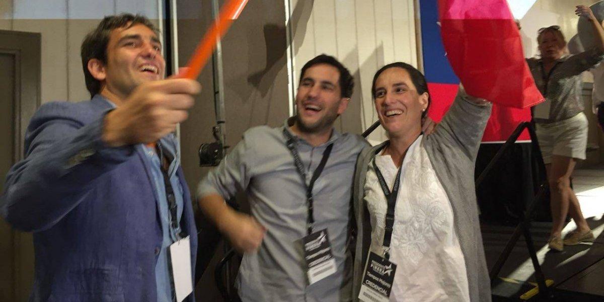 """Hijo de Piñera: """"Estoy muy contento con la votación del Frente Amplio, renuevan la política"""""""