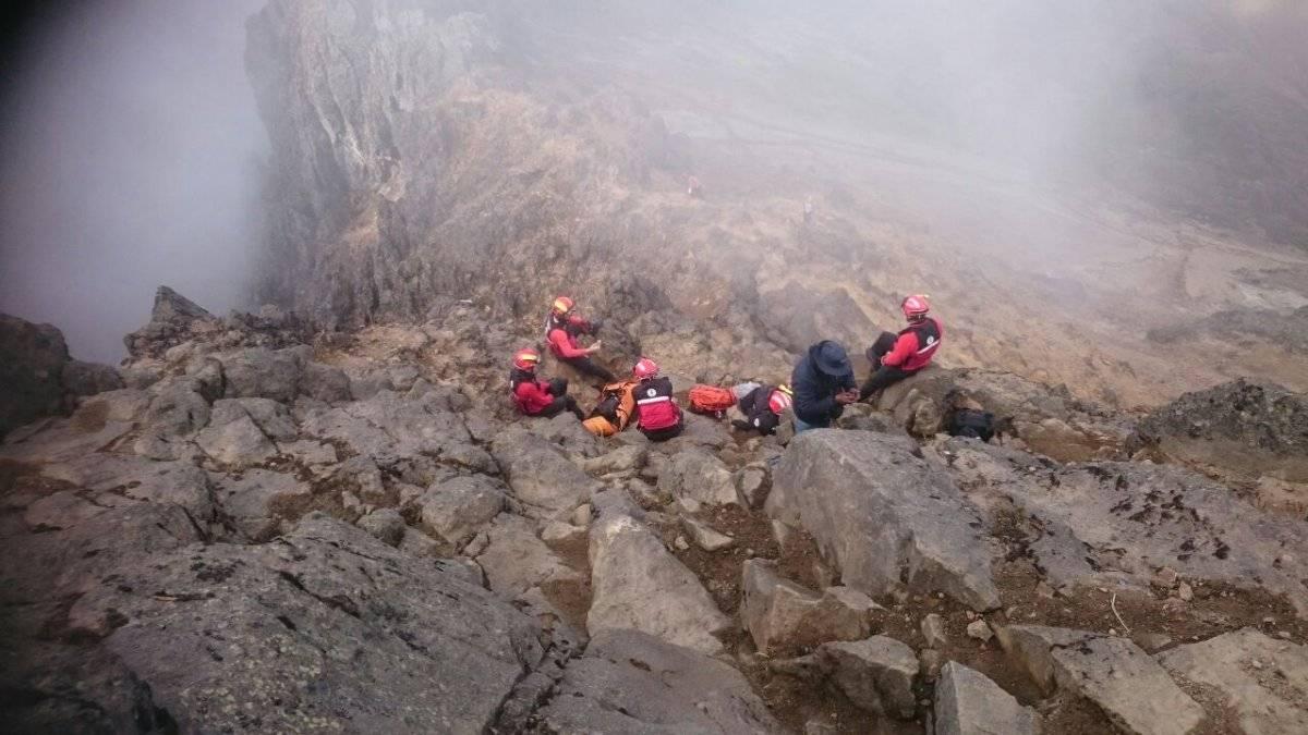 Hallan a hombre sin vida en el Rucu Pichincha Cortesía