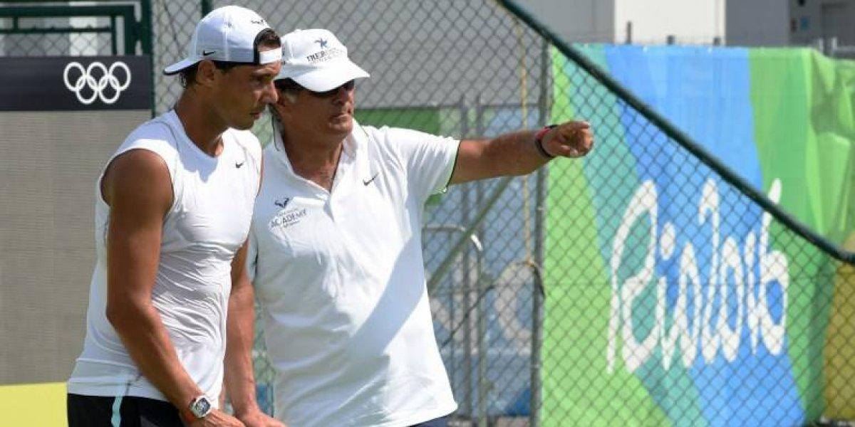 Rafael Nadal se queda sin entrenador y este se despide así de él