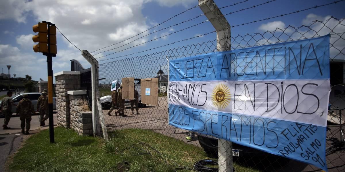 Submarino argentino desaparecido relatou mau funcionamento elétrico, diz porta-voz