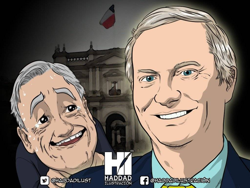 Piñera y Kast