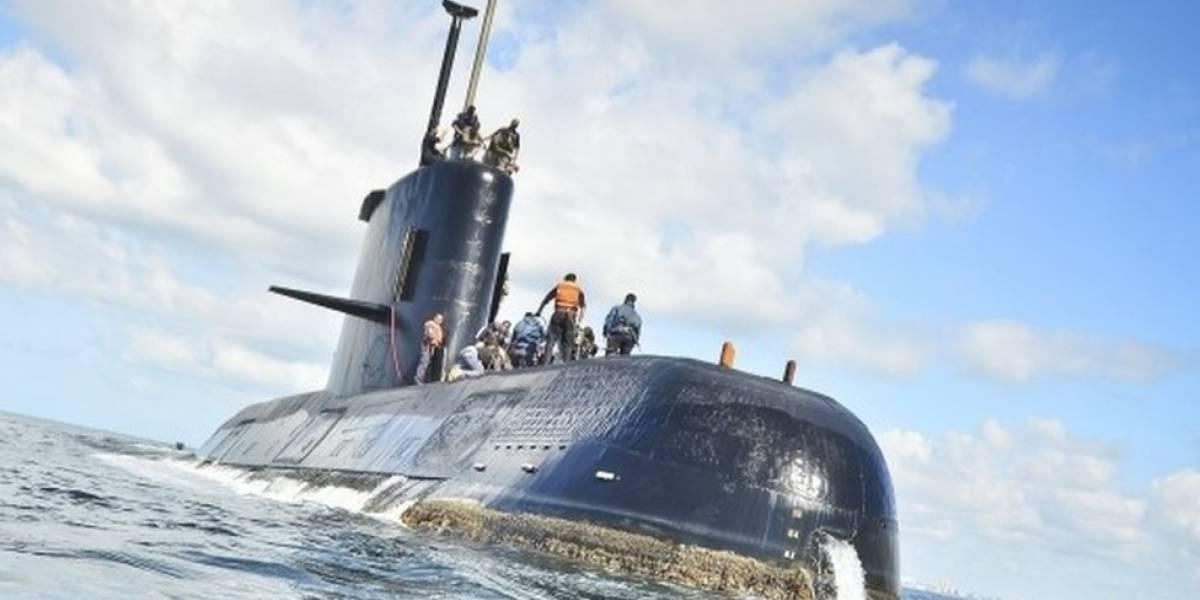 Refuerzan búsqueda del desaparecido submarino ARA San Juan de la Armada argentina, tras detectar señales de emergencia
