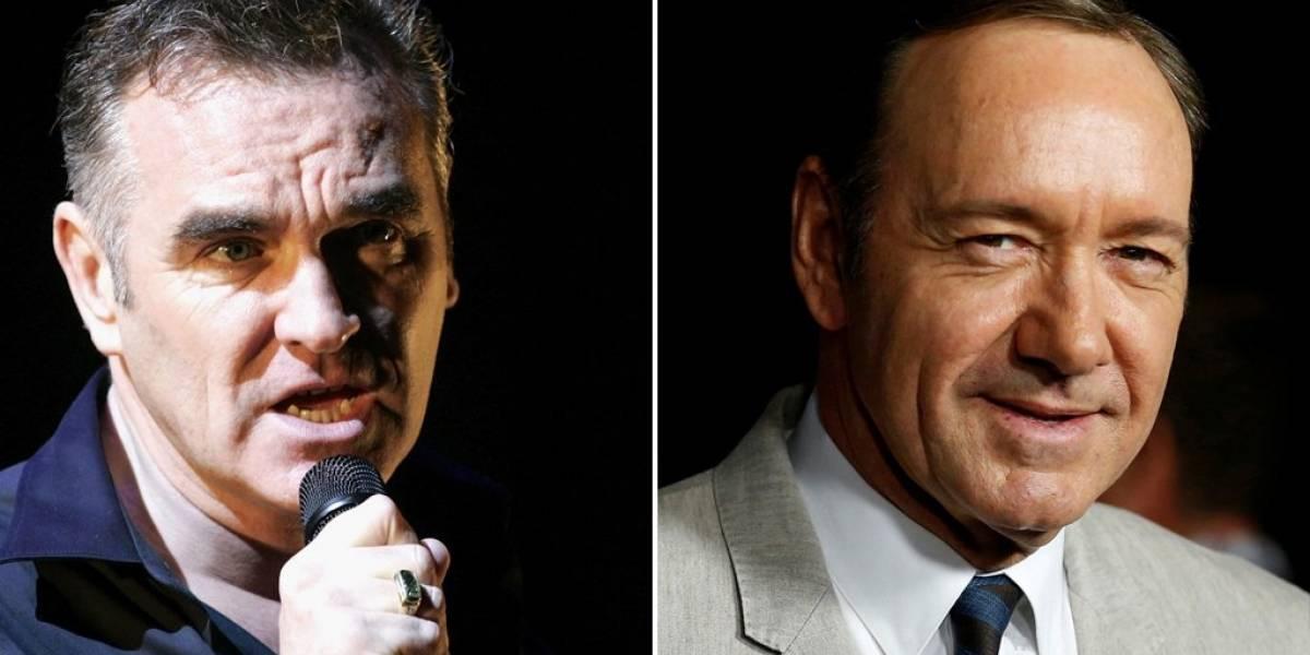 La polémica defensa del músico británico Morrissey a Harvey Weinstein y Kevin Spacey, acusados de abusos sexuales