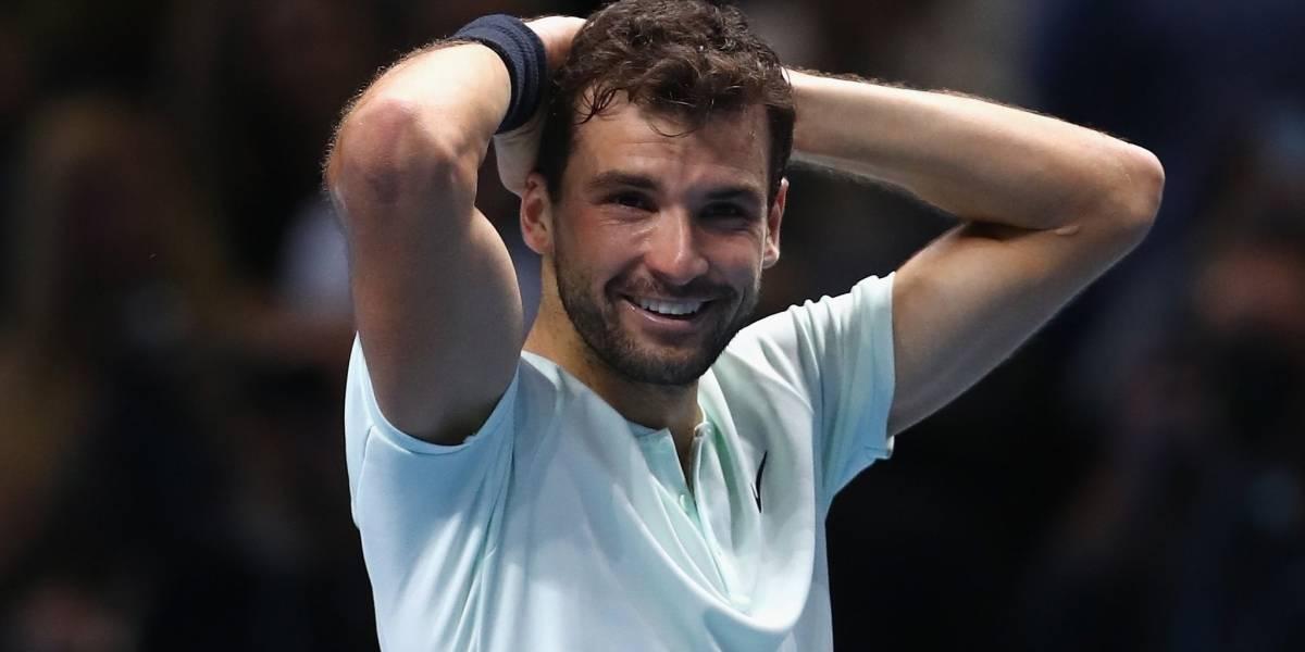 """La larga lucha del búlgaro Grigor Dimitrov para sacudirse el mote de """"Baby Federer"""" y consagrarse maestro del tenis"""