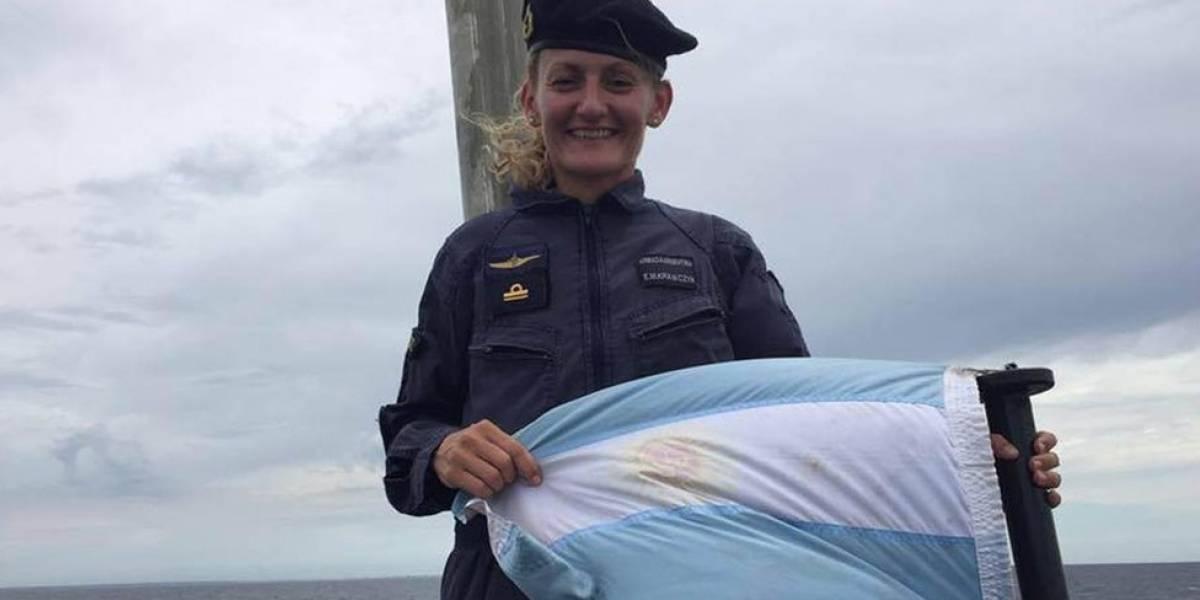 """Eliana Krawczyk """"La reina de los mares"""", la primera mujer submarinista de Argentina y América Latina que va a bordo del desaparecido ARA San Juan"""