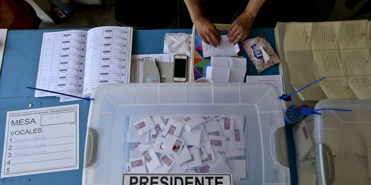 Expresidente Piñera a la cabeza en las elecciones de Chile