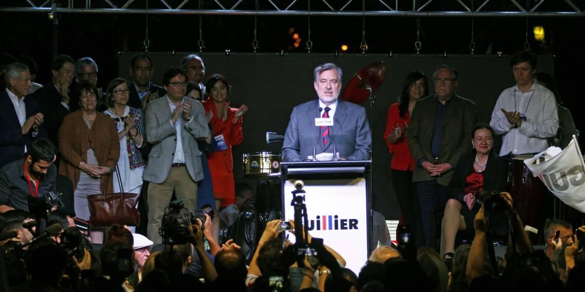 """Guillier y su paso a segunda vuelta: """"Esta noche comienza un nuevo Chile"""""""