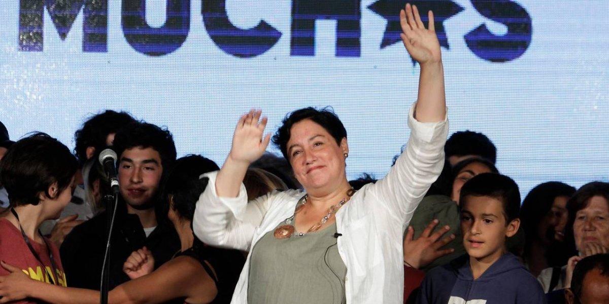 """Beatriz Sánchez en picada contra las encuestas y manda un claro mensaje: """"Piñera es un retroceso para el país"""""""