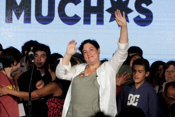 Beatriz Sänchez sorprendió / imagen: Agencia UNO
