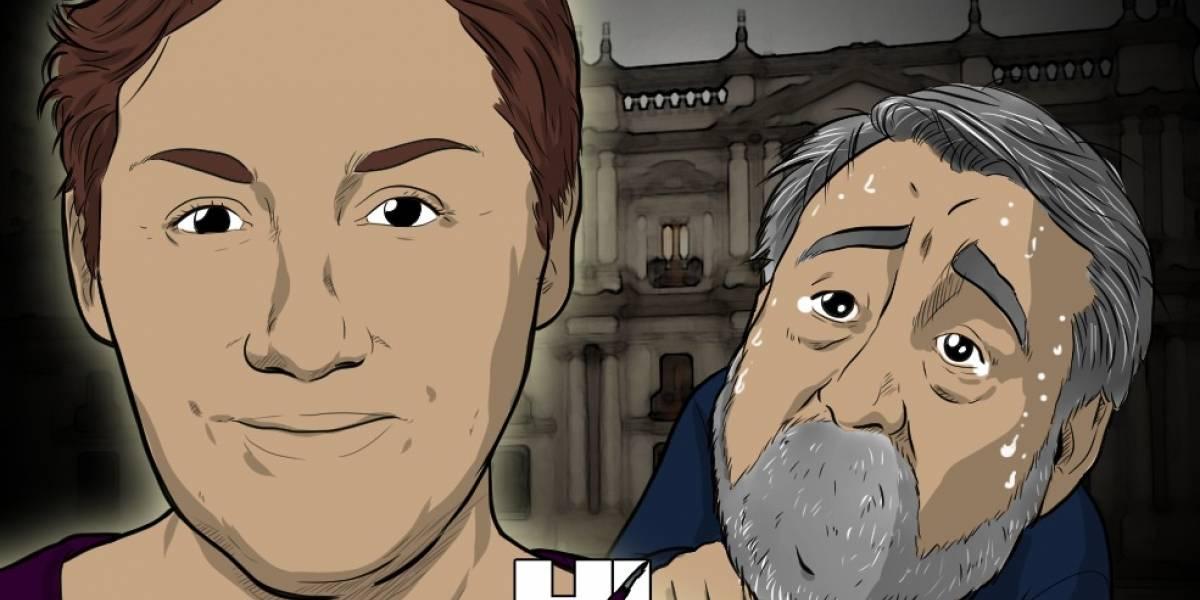 Las ilustraciones que se burlan de Piñera y Guillier buscando votos para la segunda vuelta