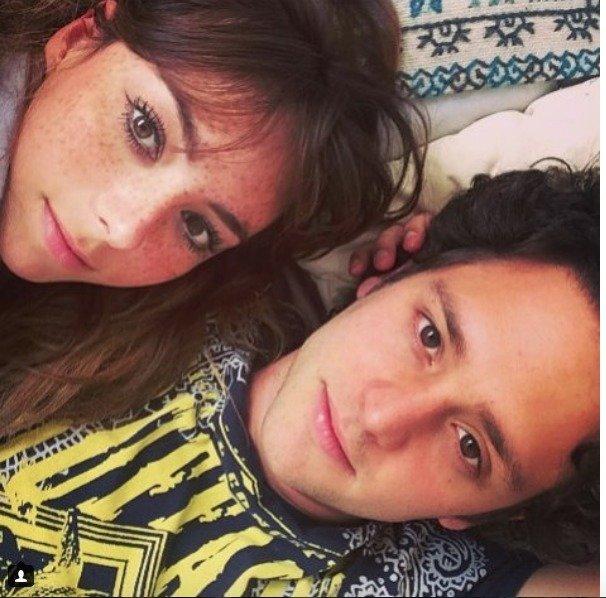 Natalia Téllez y el ex RBD, Christopher Uckermann cuando mantenían una relación Instagram