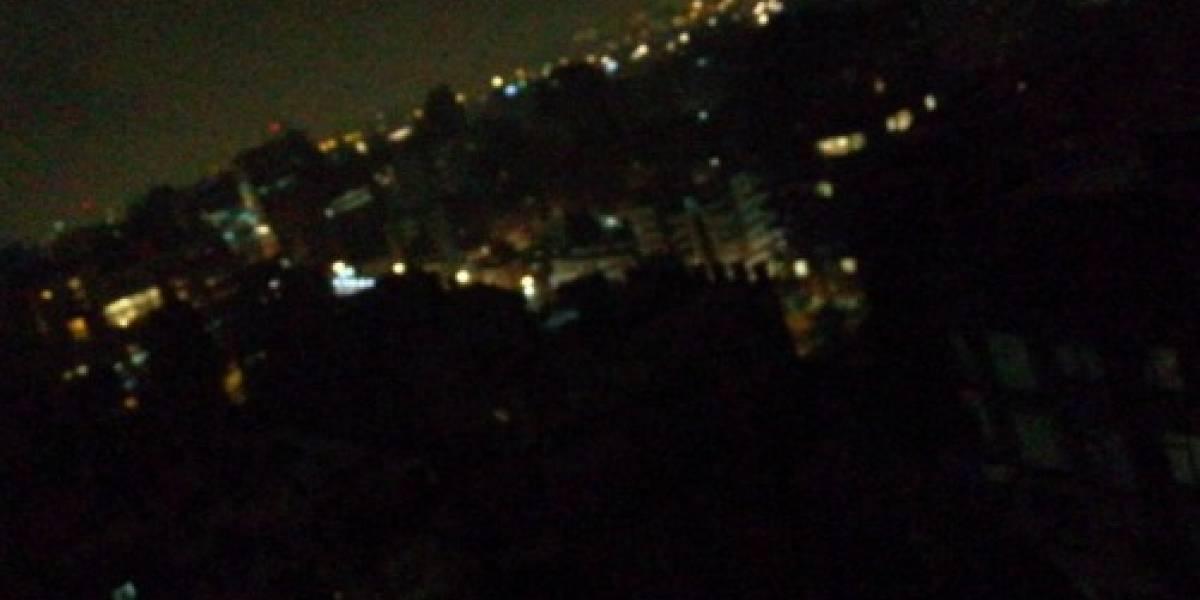 Reportan cortes de luz en Bogotá por fuertes lluvias