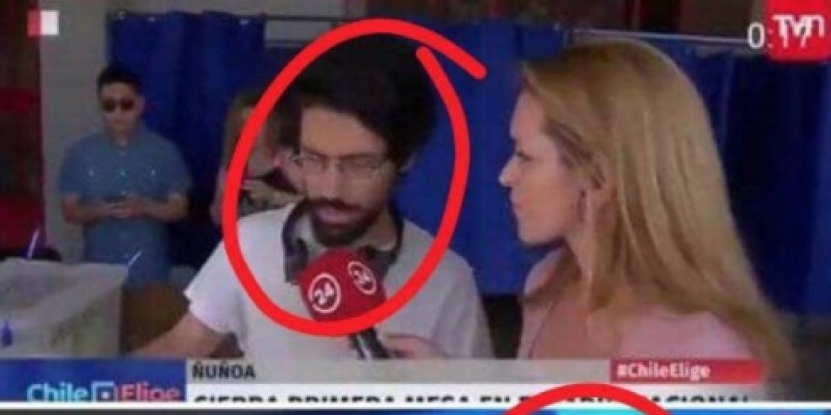 ¿Es o no es?: aseguran que joven que se volvió viral por intentar robar urna con votos apareció en celebración de Beatriz Sánchez