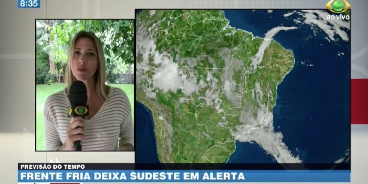 Frente fria deixa Sudeste em alerta; veja a previsão